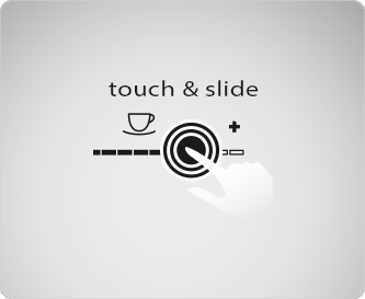 touch and slide