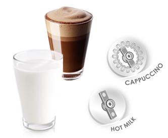 Melitta cappuccino hete melk