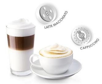 Melitta latte en cappuccino